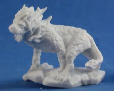 1 x HELL CAT- BONES REAPER figurine miniature jdr d&d demon chat enfer 77327