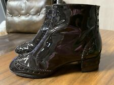 CHLOE PERRY ANKLE BROGUE BOOTS ICONIC ICON STIEFEL SCHUHE SHOES STIEFELETTEN 39