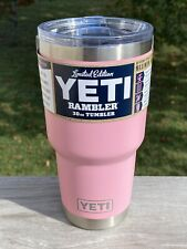 New listing Yeti Le Pink Limited Edition 30 Oz Rambler Tumbler New MagSlider Rare Authentic