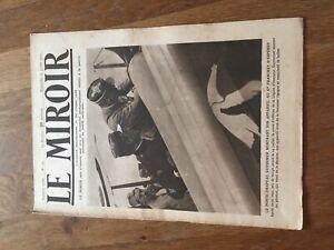 JOURNAL LE MIROIR 191 22 juillet 1917 porte drapeau guynemer franchet d esperey