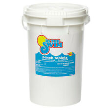 In The Swim 3 Inch 99% Sanitizer Swimming Pool Chlorine Tablets  50 Lbs.