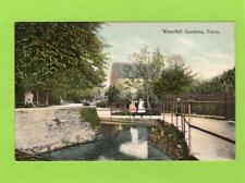 Waterfall Gardens Truro unused pc Woodbury Ref C832