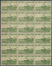 "TURKEY - 1941 MNH ""IZMIR International Fair"" Block Of 40 Stamps !!!"