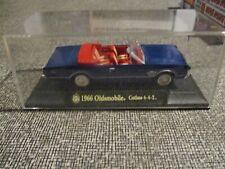 diecast car 1966 oldsmobile cutlass 4-4-2 convertible in display case