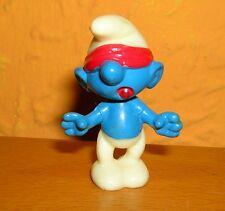 Ü-Uovo olimpiadi dei puffi di ricerca PUFFO variante di colore di bocca piena dipinta ROSSO