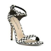 Via Spiga Tiara 2 Women Leather Heeled Ankle Strap Sandals Size US 8.5M