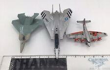 Plane Toys 3 Yf-22 Lightning 2 Ii Sea Plane And One Other