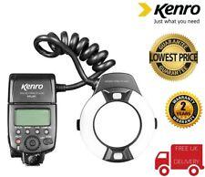 Kenro Macro Ring Flash - Nikon fit KFL201N (UK Stock)