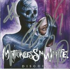Motionless In White Autographed Disguise CD