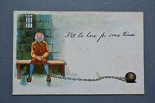 R&L Postcard: All British Aldine Comic Prison Prisoner Criminal Ball & Chain