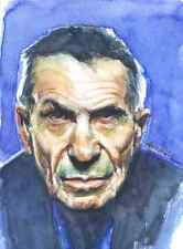 Leonard Nimoy: Artwork Reproduction, Giclee Print, Realism, Celebrity