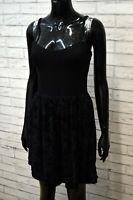 SILVIAN HEACH Donna Vestito Tubino Corto Mini Nero Taglia XS Abito Dress Women's