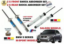 FOR BMW 535D E60 M SPORT 2003-2010 2 X FRONT & 2 X REAR SHOCK ABSORBER SET