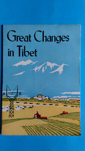 GREAT CHANGES in TIBET Foreign Languages Press Propaganda  Lhasa DALAI LAMA CINA
