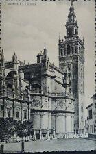 ANTIGUA POSTAL CATEDRAL DE SEVILLA LA GIRALDA ANDALUCIA POSTCARD         CC03994
