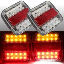 LED STOP REAR TAIL LICENSE PLATE LIGHTS INDICATOR LAMP UTE TRUCK TRAILER CARAVAN