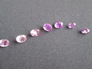 Lot Of Natural Loose Gemstone Faceted Amethyst 15 Carats