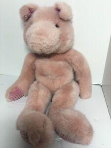 "plush stuffed animal Russ Berrie Hearst Collection 15"" Pigmallion"