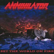 Set the World on Fire von Annihilator | CD | Zustand gut