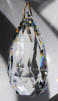 Huge 90mm The Club Crystal Clear Prism SunCatcher 3-1/2 inches HEAVY