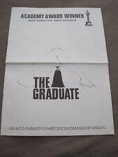 1968 8 page pressbook The Graduate Dustin Hoffman Anne Bancroft Katharine Ross