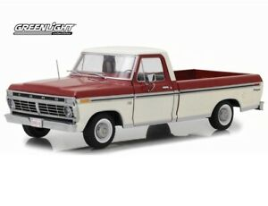 1973 Ford F100 Pick Up Truck Red 1/18 GreenLight 12962