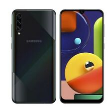 "Brand New Samsung Galaxy A50s Black 128 GB 6GB RAM 6.4"" 48+5+8MP Camera"