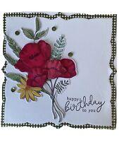 Handmade Birthday Card Bouquet