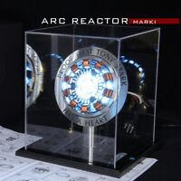1:1 Arc Reactors DIY Model Men Heart LED Light MK1/MK2/BOX Movie Props Toys Gift