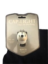 4 LED Cap Light (2 extra batteries included)