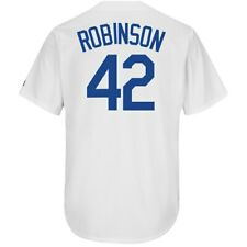 Los Angeles Dodgers Jackie Robinson #42 New Cool Base Men's Home Baseball Jersey