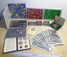 Lot of British Isles & More Coin Sets & Cased Coins Uk Australia Canada Bermuda