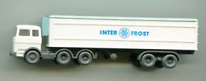 INTER FROST articulated lorry     by WIKING    N Gauge