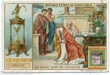 CHROMO. LIEBIG. L'HEURE . Sablier.     .  S 832 . 1905