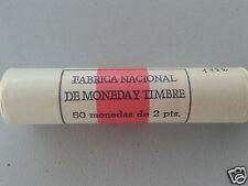 manueduc  ESPAÑA  50  Monedas de  2 Pesetas 1982 Rollo FNMT  Juan Carlos I