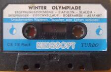 Winter Olympiade C 16, C116 Plus 4 Cassette (Tape)