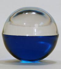 BIG Decorative Acrylic Ball 80 mm 2 tone blue - Great Fish tank Decoration