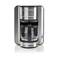 Kaffeemaschine Kaffee Kaffeefiltermaschine 24h Timer 1080 W 12 Tassen Edelstahl