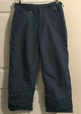 Ride Science Technology Unisex L Blue Pull Over Riding Shell Pants