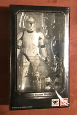 BANDAI S.H.Figuarts Star Wars Clone Trooper Phase 1 Attack of the Clones SW