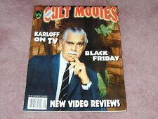 CULT MOVIES # 29 - Boris Karloff on TV, Black Friday, video reviews