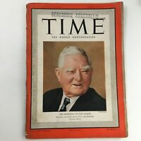 Time Magazine March 20 1939 Vol 33 #12 Former Vice Pres. John Nance Garner