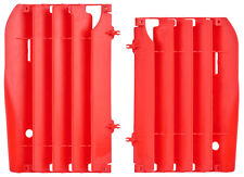 New Red Radiator Covers Guards Honda CRF450R CRF 450R 2009 2010 2011 2012