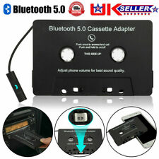 More details for car bluetooth 5.0 audio stereo cassette tape adapter to aux for iphone huawei