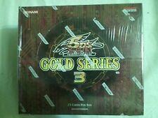 YuGiOh 1x 2010 GOLD Series 3 Limited Booster Box Konami Factory Sealed Yu-Gi-Oh