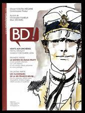 Catálogo Venta a las Subasta Bd Coutau-Begarie el Monde de Hugo Pratt 12/2006