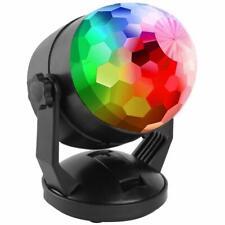 Sonido RGB Etapa Fiesta Luz Bola de cristal Disco Xmas DJ USB LED Foco Lámpara