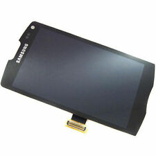 DISPLAY LCD + TOUCH SCREEN per SAMSUNG GALAXY WAVE 2 II GT-S8530 NERO RICAMBIO