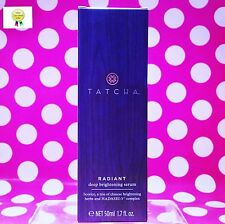 TATCHA RADIANT DEEP BRIGHTENING SERUM 1.7OZ FULL SIZE! BOX! - RETAILS $185.00