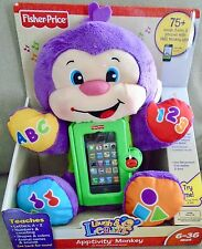 NEW  FISHER PRICE  LAUGH  AND  LEARN  APPTIVITY  MONKEY